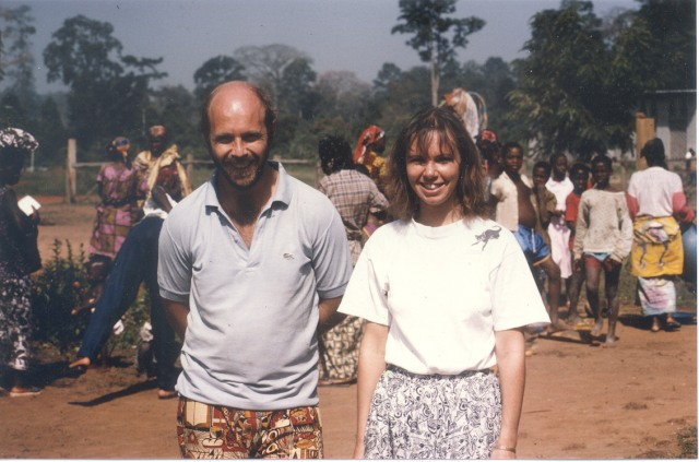 Eddie and Sue Arthur in Ivory Coast